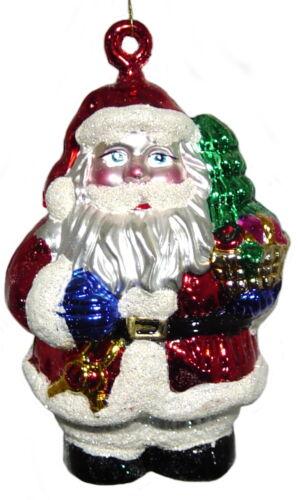 12 Stk  4x3 verschiedene Christbaumschmuck Baumbehang A Weihnachtsmänner 11cm