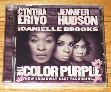 The Color Purple Broadway Cast Recording Audio CD Soundtrack 2016