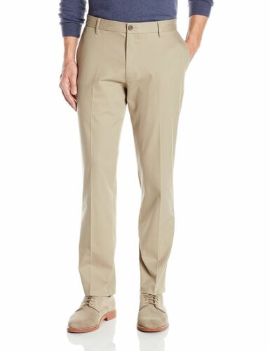 Dockers Mens Pants Best Pressed Straight Fit Flat Front 31 32 33 34 36 38 40 NEW