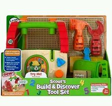 LeapFrog Scout's Build and Discover Tool Set Build Doghouse Learn Colors Numbers