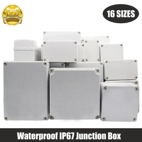 IP67 ABS Wasserdicht Abzweigkasten Anschlusskasten Abzweigdose Verteilerdose NEU