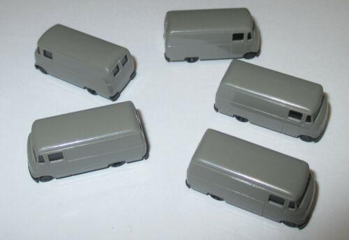 Rietze  Mercedes Benz L319 Transporter grau  5 Stück  1:160  /> NEU
