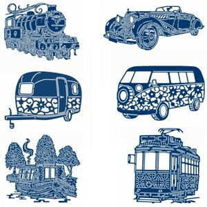 Vehicle-Transportation-Ship-Metal-Cutting-Dies-Scrapbooking-Embossing-Stencil