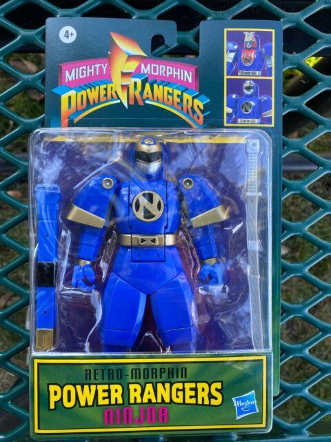 Hasbro Power Rangers NINJOR Retro-Morphin Automorph Fliphead 2021 New Arrival