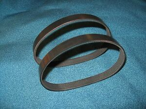 2-NEW-DRIVE-BELTS-MADE-IN-USA-FOR-DELTA-22-540-12-034-PLANER-2-BELTS