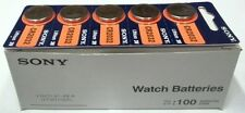 Pack of 100 Sony CR2032 3V Lithium Coin 2032  Batteries