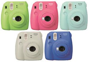 Fujifilm Instax Mini 9 Instant Camera - Blue , Green, Pink, or Gray