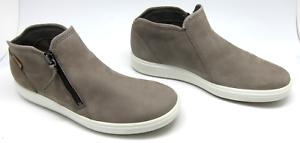 Ecco Women's Soft 7 Low Zip Bootie Shoe