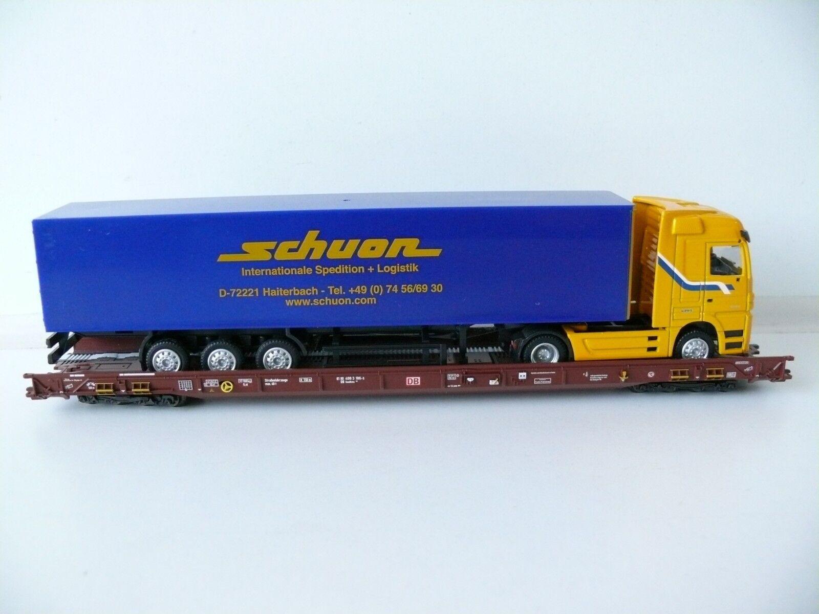 Märklin H0 - 47427 Niederflurendwagen Saadkms 690 schuon der DB- Neu & OVP