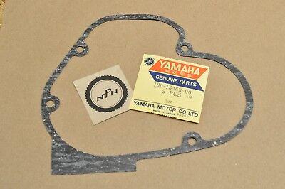 Yamaha YG5T,YG5S nos oem Carburetor cover gasket p.n 180-15463-00