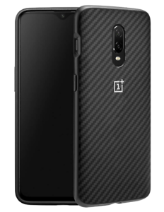 sports shoes 98c72 89a55 Details about OnePlus 6T Vader Karbon Bumper Case in Black (OnePlus 6T)  Evutec