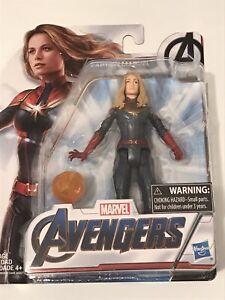 Marvel Avengers Endgame Captain Marvel 6-Inch-Scale Figure NEW OPEN