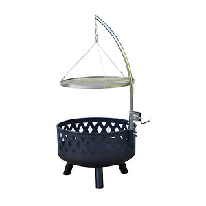 Outdoor Bbq Grill Charcoal Barbecue Patio Smoker Cooking