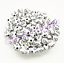 100-Pcs-8mm-Cross-Acrylic-Charm-Round-Spacer-Loose-Beads-Bracelet-Necklace thumbnail 3