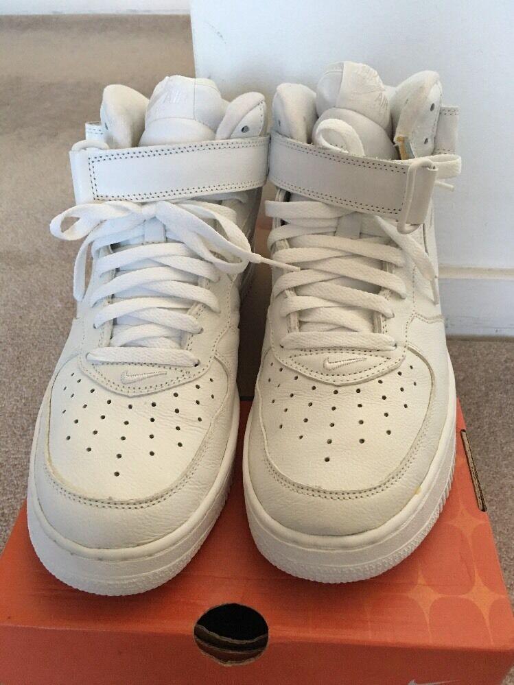 Nike Nike Nike Air Force 1 Mid White Size 10 aebcdb