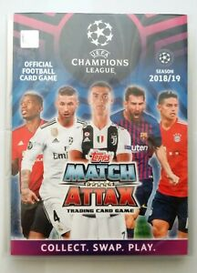Topps-Match-Attax-UEFA-Champions-League-2018-2019-Complete-Set-443-Cards