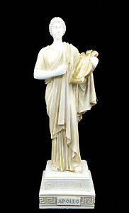 Apollo with Lyre Alabaster statue patina aged Ancient ...