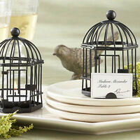 Place Card Holder Love Songs Birdcage Tealight Holder/-set Of 6