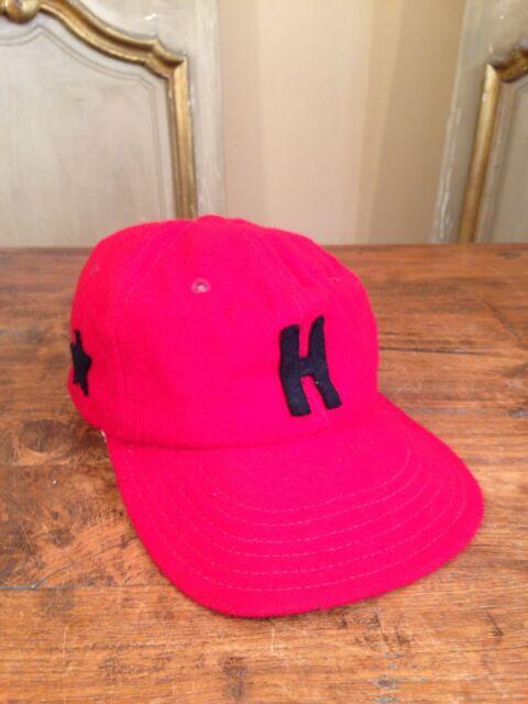 HARVARD UNIVERSITY 1930 s WOOL BASEBALL CAP HAT SIZE 7 8 Funk Bros. RARE! a98ca5410db