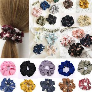 Korean-Style-Women-Hair-Scrunchies-Bun-Ring-Elastic-Sports-Dance-Scrunchie-New