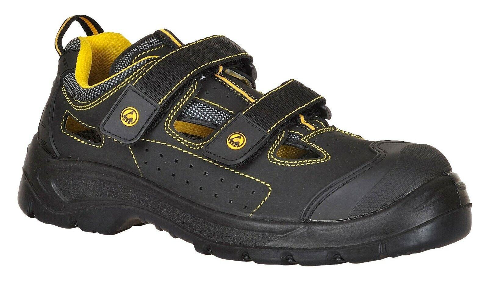 Portwest ESD Tagus Safety Sandal Trainer Shoes Non Metallic Toe Cap 3-13 FC04