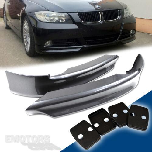 PAINTED BMW E90 3-SERIES 4D SEDAN OE FRONT BUMPER LIP SPLITTER PP 330i 325#354