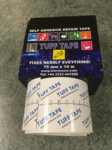 STORMSURE TUFF Tape repairs Trailer Curtainsiders Sails Groundsheets Tents Kites