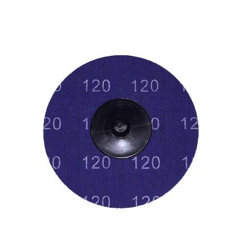 "100-3/"" Roloc A//O Quick Change Sanding Disc 120 Grit and Mandrel"