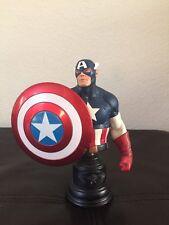 2009 Bowen Designs Classic Captain America Bust Marvel Statue #1078 of 2000