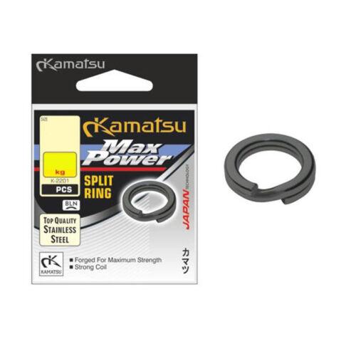 Anelli Split MAX POWER SPLIT RINGS Spring anelli KAMATSU k-2201 BLN Seeger