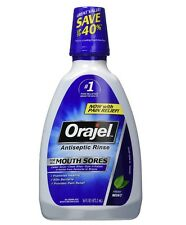 Orajel Antiseptic Mouth Sore Rinse 16 oz