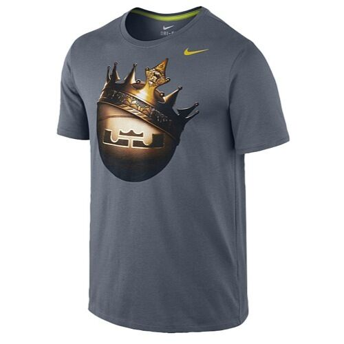 Buy Mens Nike Lebron Crown Ball Tee Size L 644581 Dri-fit NWTS online  c5be50cce