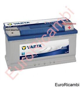 BATTERIA-ACCUMULATORE-AUTO-VARTA-95AH-PER-IVECO-MASSIF-3-0-HPT-130kW-DAL-2008