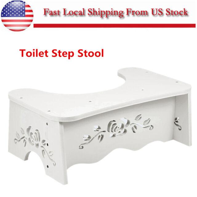 Excellent Aid Squatty Toilet Step Foot Stool Potty Help Prevent Constipation Bathroom Us Machost Co Dining Chair Design Ideas Machostcouk