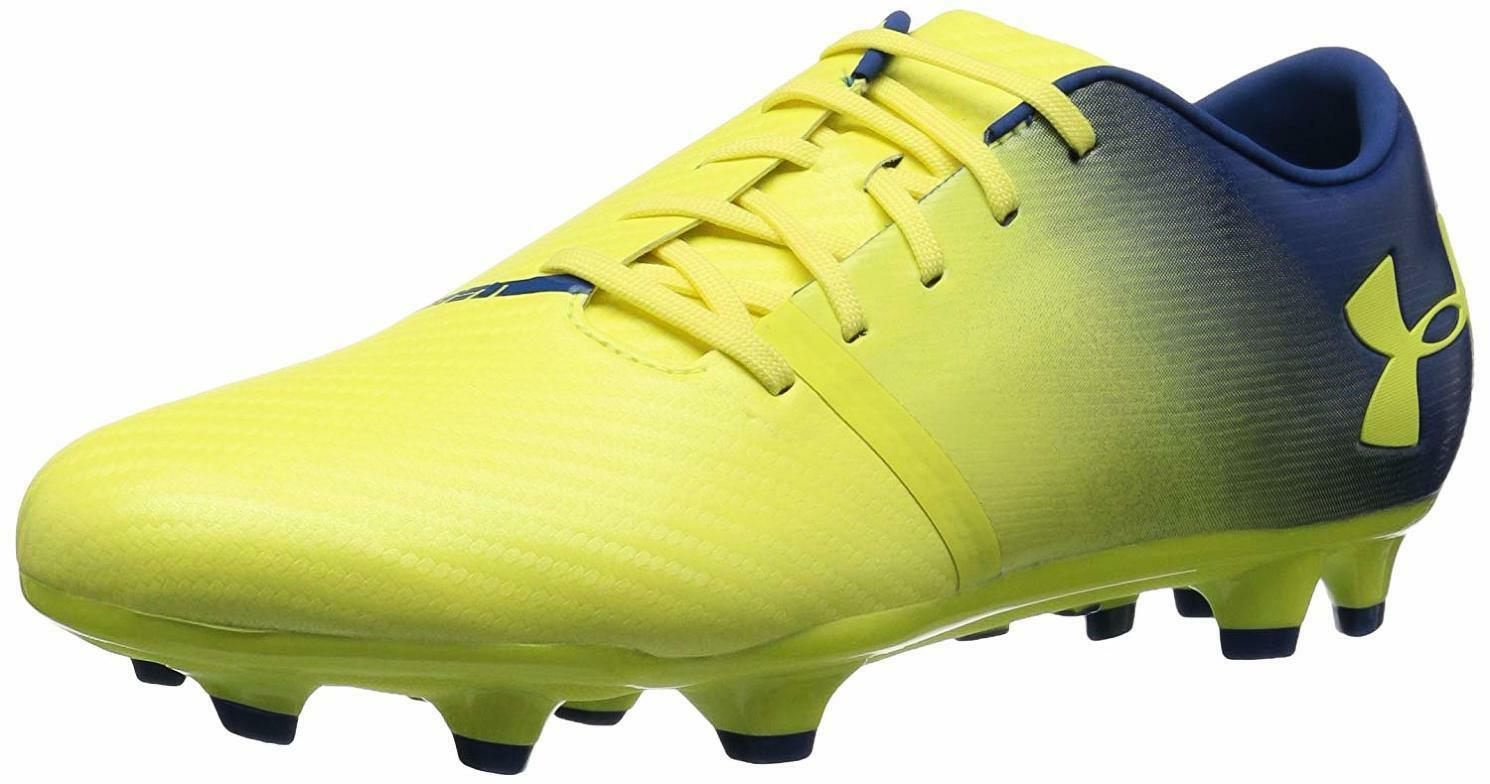 Armour Para Hombre Negra Spotlight Under Fútbol Terreno Firme Fútbol Under Zapato-elegir talla/color e66a7e