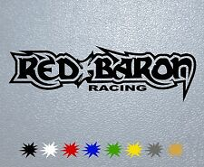 STICKER PEGATINA DECAL VINYL Red Baron,Racing