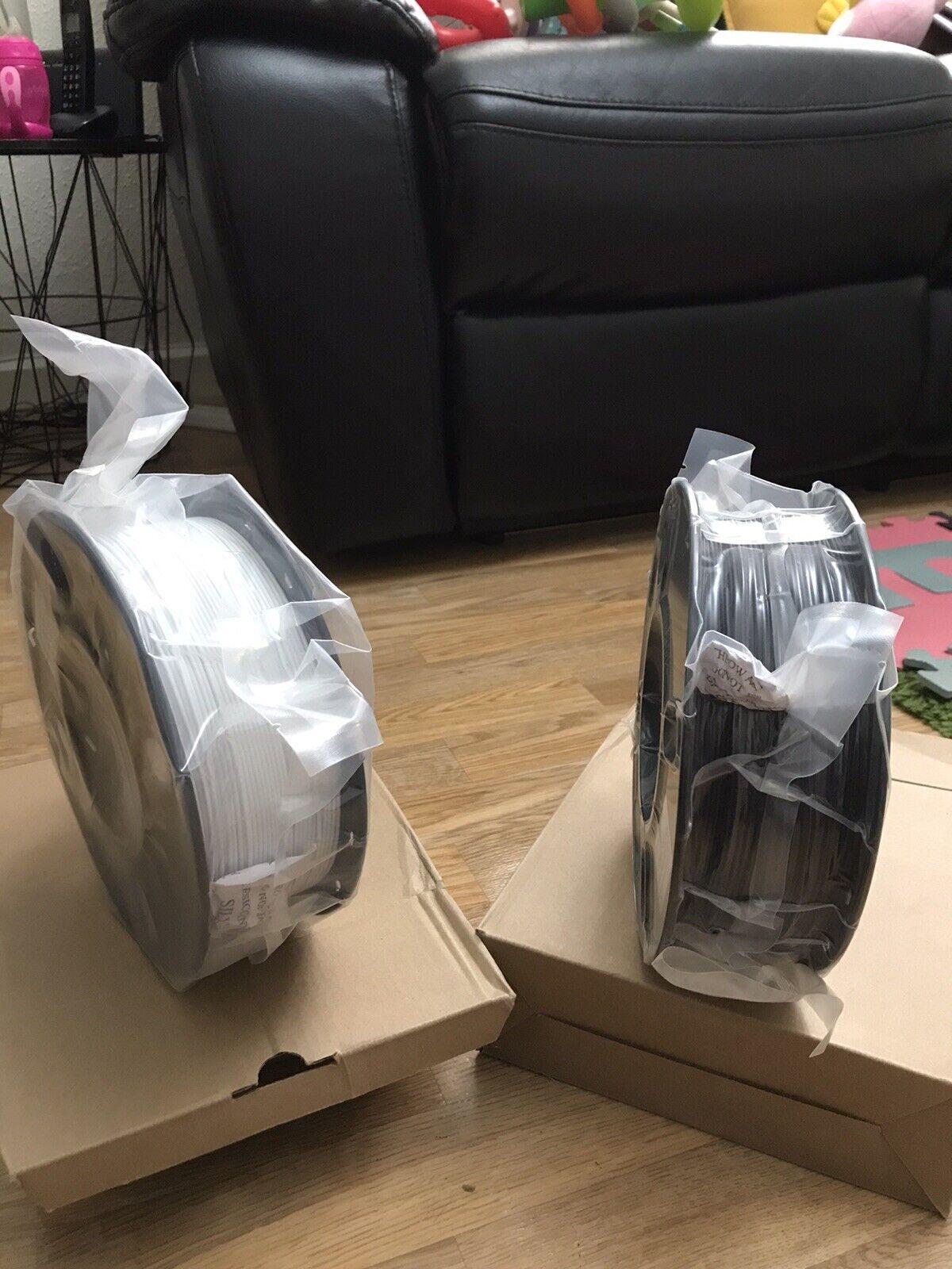 pla 3d printer filament 1.75mm 1 items only choice 1kg black/white