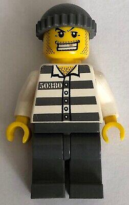 LEGO ®-Minifigur City Gefangener Häftling 50380 Goldzahn 3658 cty040 cty0040