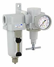 Pneumaticplus Heavy Duty Air Filter Regulator Combo 34 Npt T Handle