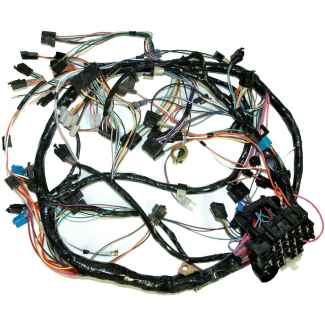81 corvette dash wiring harness all with automatic transmission for sale  online | ebay  ebay