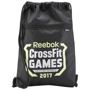 Image Is Loading Reebok Bag Crossfit Drawstring Rucksack Gymsack Backpack