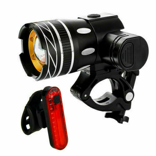 Rechargeable 15000LM XM-L T6 LED MTB Bicycle Light Bike Front Headlight w//USB