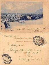 Riva col Vapore AUSTROUNGARICA ANNO 1899 (A-L 595)