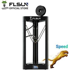 FLSUN 3D Drucker QQ-S-PRO Large Size Delta 255x255x365mm Auto-level Touch Screen