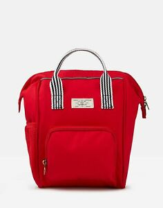 Joules Girls Coast Mini Me Backpack - RED in One Size