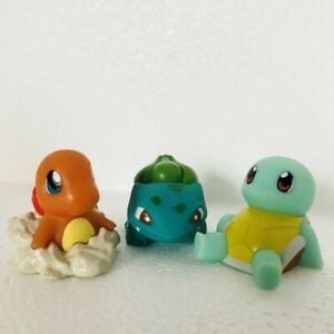 Charmander-Squirtle-amp-Bulbasaur-Pokemon-Nintendo-Bandai-3-Toy-Figures-Bundle-f