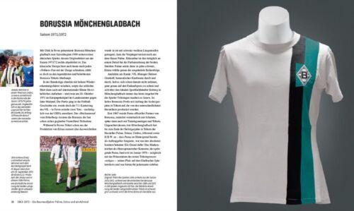 Bücher Die Trikots der Bundesliga Geschichte von 1963 bis heute Sammlerstücke Buch NEU