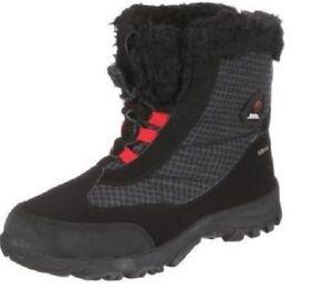 Killtec Chim Stiefel Unisex Boots Schneestiefel Winterstiefel Schwarz