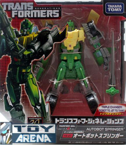 Transformers Generations TG-21 Springer Autobot Fall of Cybertron Takara Tomy