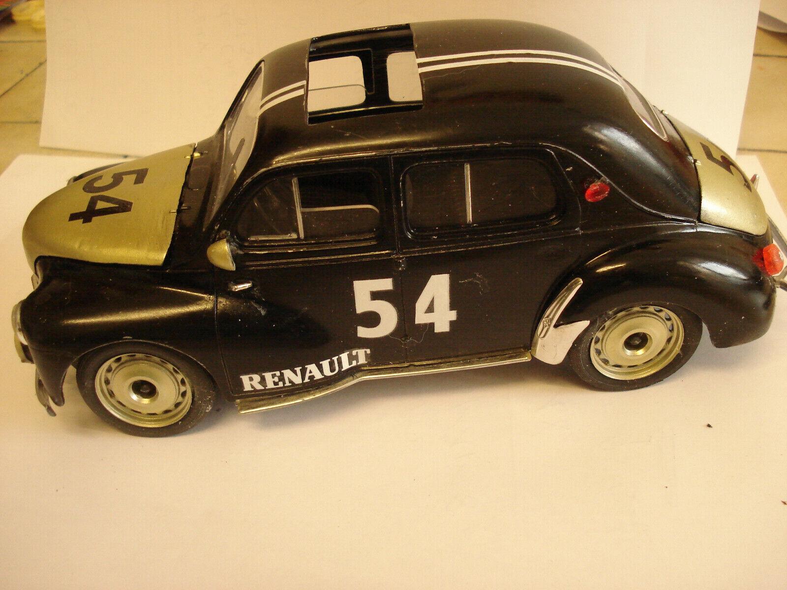 Solido     RARE   Renault 4 CV  Rtuttiye   a toit  ouvrant    - -  1 17 - -   TBE 9bce11